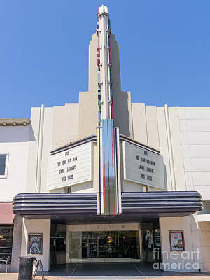 Photograph - Rafael Theater In San Rafael California Dsc3395 by Wingsdomain Art and Photography