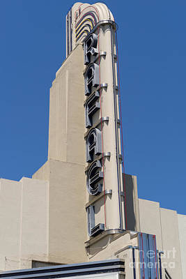 Photograph - Rafael Theater In San Rafael California Dsc3400 by Wingsdomain Art and Photography