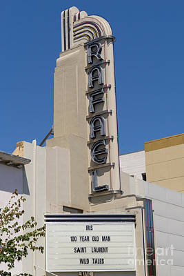 Photograph - Rafael Theater In San Rafael California Dsc3403 by Wingsdomain Art and Photography