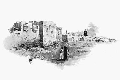Photograph - Raffaele Jerusalem 1895 by Munir Alawi