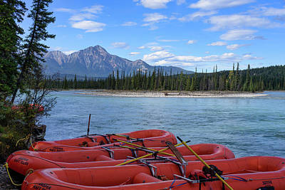 Photograph - Rafting Adventure Tours by Keith Boone