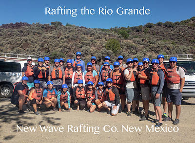 Photograph - Rafting - Molly Phillip by Britt Runyon