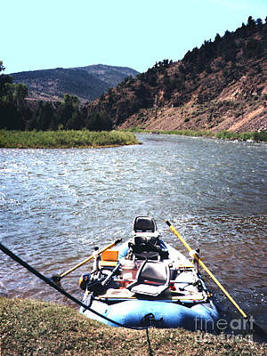 Photograph - Rafting On The Colorado River by Merton Allen