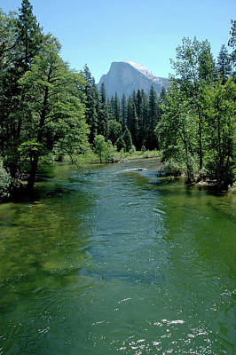 North America Photograph - Rafting The Green Waters Of  Merced River by LeeAnn McLaneGoetz McLaneGoetzStudioLLCcom