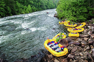 Photograph - Rafting The Ocoee by Paul Mashburn