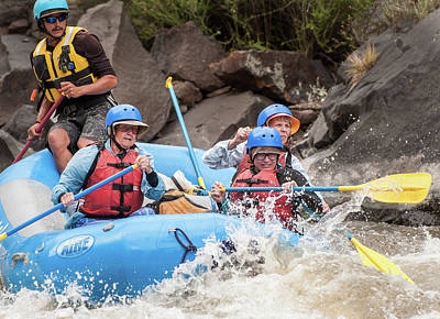 Photograph - Rafting The Rio Grande-243 by Britt Runyon