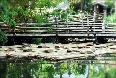 Rafts At Rest Art Print
