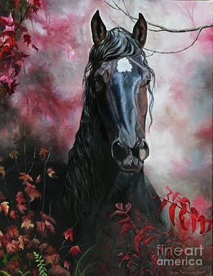 Painting - Rage by Heidi Parmelee-Pratt