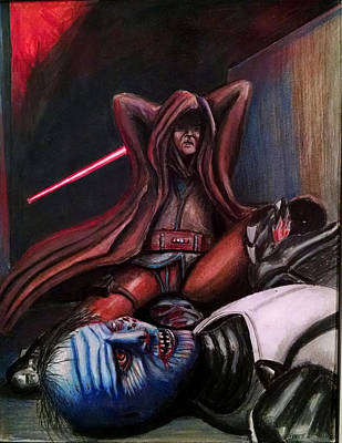 Rage Of The Jedi Original by Chris Benice