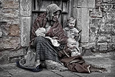Photograph - Ragged Victorians 2 by David Birchall