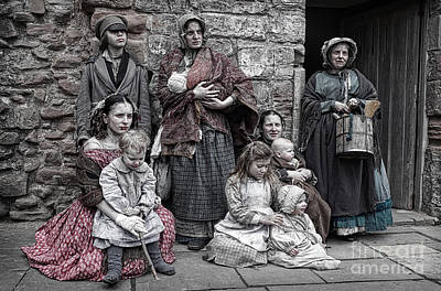 Photograph - Ragged Victorians 7 by David Birchall