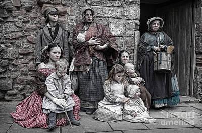 Photograph - Ragged Victorians 7 by David Birchall