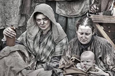Photograph - Ragged Victorians 8 by David Birchall