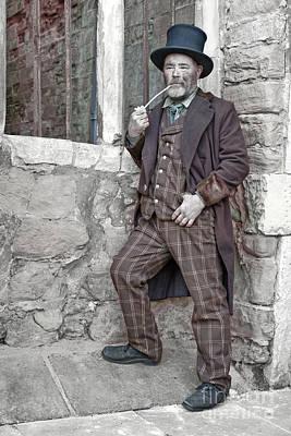 Photograph - Ragged Victorians 9 by David Birchall