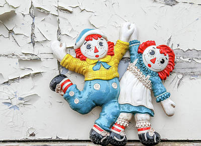 Photograph - Raggedy Ann And Andy by Nick Mares