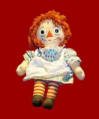 Photograph - Raggedy Ann Doll by Pamela Walton