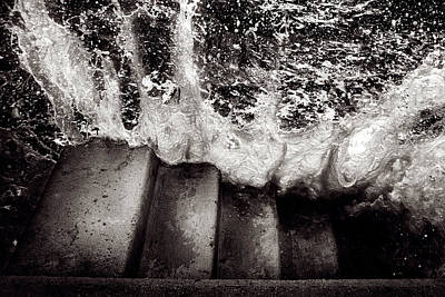 Raging Photograph - Raging Bay by Tim Nichols