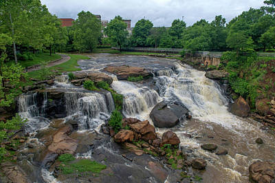 Photograph - Raging Falls by Willie Harper