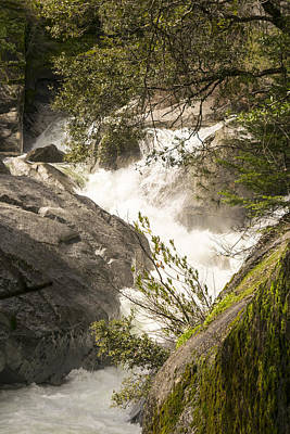 Photograph - Raging Rock Creek by Frank Wilson