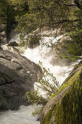 Raging Photograph - Raging Rock Creek by Frank Wilson