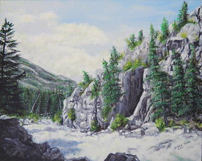 Painting - Raging Stillwater by Sharon Tabor