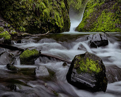 Photograph - Raging Water by Hans Franchesco