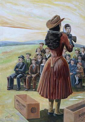 Ragtime Annie Original by Paula Blasius McHugh