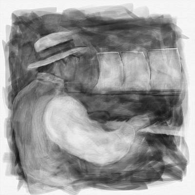 Digital Art - Ragtime Blues by Eduardo Tavares