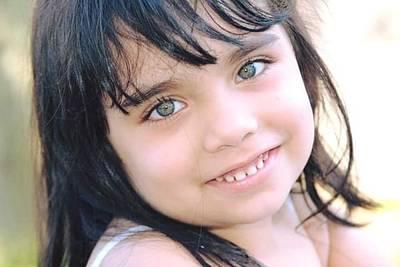 Photograph - Raheema, Big Sister by Khalid Saeed