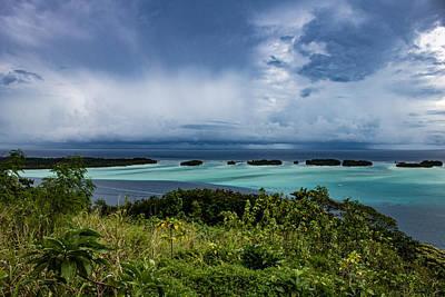 Photograph - Raiatea's Lagoon 1 by Martin Naugher