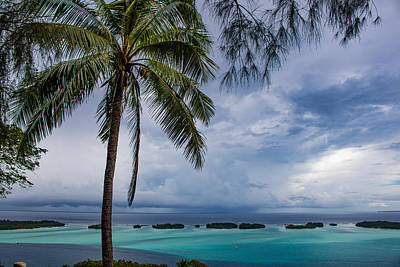 Photograph - Raiatea's Lagoon 2 by Martin Naugher