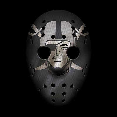 Photograph - Raiders War Mask 3 by Joe Hamilton