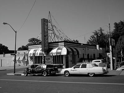 Art Print featuring the photograph Raifords Disco Memphis A Bw by Mark Czerniec
