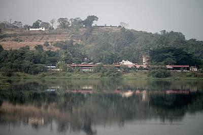 Rail By Lake Original