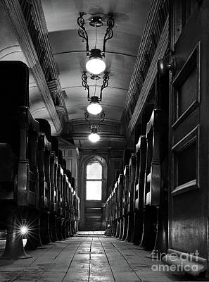 Photograph - Rail Car Perspective by Art Cole