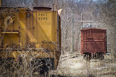 Photograph - Rail Days Gone By by Joann Long