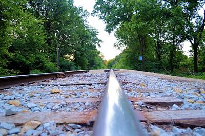 Photograph - Rail Running by Bonfire Photography