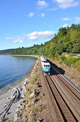 Photograph - Rail Travel by Caroline Reyes-Loughrey