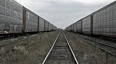 Photograph - Rail Yard by Michael Rutland