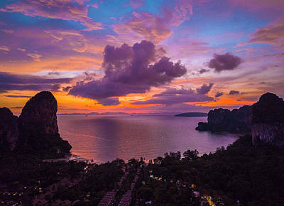 Photograph - Railay Beach by Evgeny Vasenev