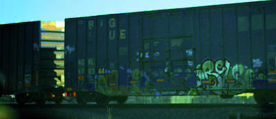 Photograph - Railcar Art by Connie Fox