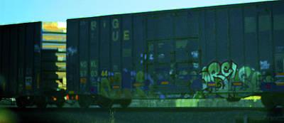 Photograph - Railcar Art by Connie Fox