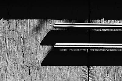 Photograph - Railing #8021 by Andrey Godyaykin