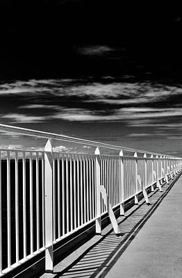 Photograph - Railing by Brian Sereda