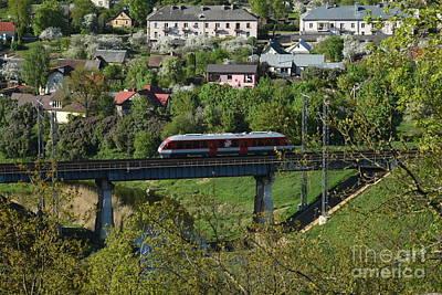 Photograph - Railroad /5/ by Oleg Konin