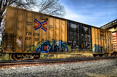 Photograph - Railroad Art by Tyra OBryant