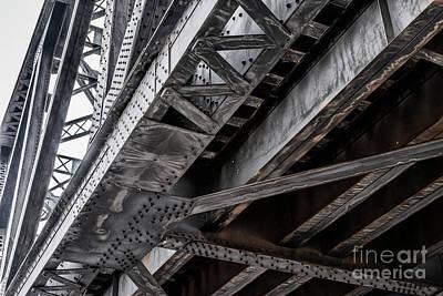 Photograph - Railroad Bridge I by Brad Allen Fine Art
