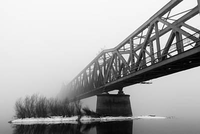 Railroad Bridge 02 Art Print by Danilo Stefanovic