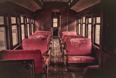 Photograph - Railroad Car by Richard Keer