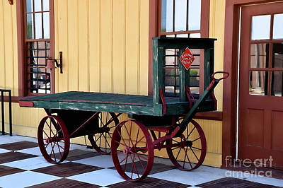 Photograph - Railroad Cart 12518 by Ray Shrewsberry